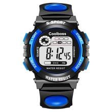 Sport Student Children Watch Kids Watches Boys Girls Clock Child Led Digital Wristwatch Electronic Wrist Watch For Boy Girl Gift цена