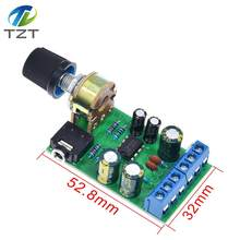 Carte amplificateur TDA2822 TDA2822M DC 1.8-12V 2.0 canaux stéréo Mini amplificateur Audio AUX Module amplificateur avec potentiomètre 50K Ohm(China)