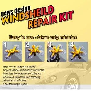 Image 3 - Diyの車のフロントガラスの修理ツールスクラッチ亀裂自動車ガラスナノ復元液体車のフロントガラスガラスウィンドウ画面研磨