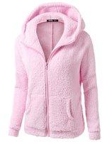 Winter Spring Women's Long Sleeve Fleece Hoodies Sweatshirts Jackets Fashion Casual Ladies Windproof Coats 20