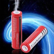 18650 סוללת ליתיום 3.7 V וולט 4800mah BRC 18650 נטענת סוללה ליתיום ליתיום סוללות עבור בנק כוח לפיד