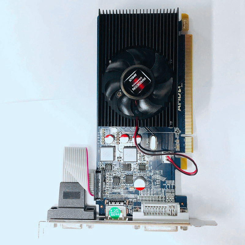 HD7450 2G image Card, Hd7450 2Gb Ddr3 64Bit Discrete image Card for Small Desktop Chassis 6
