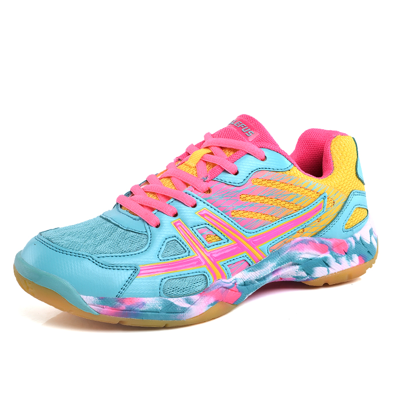Badminton-Shoes Court Professional Indoor Women Brand For Unisex Couples