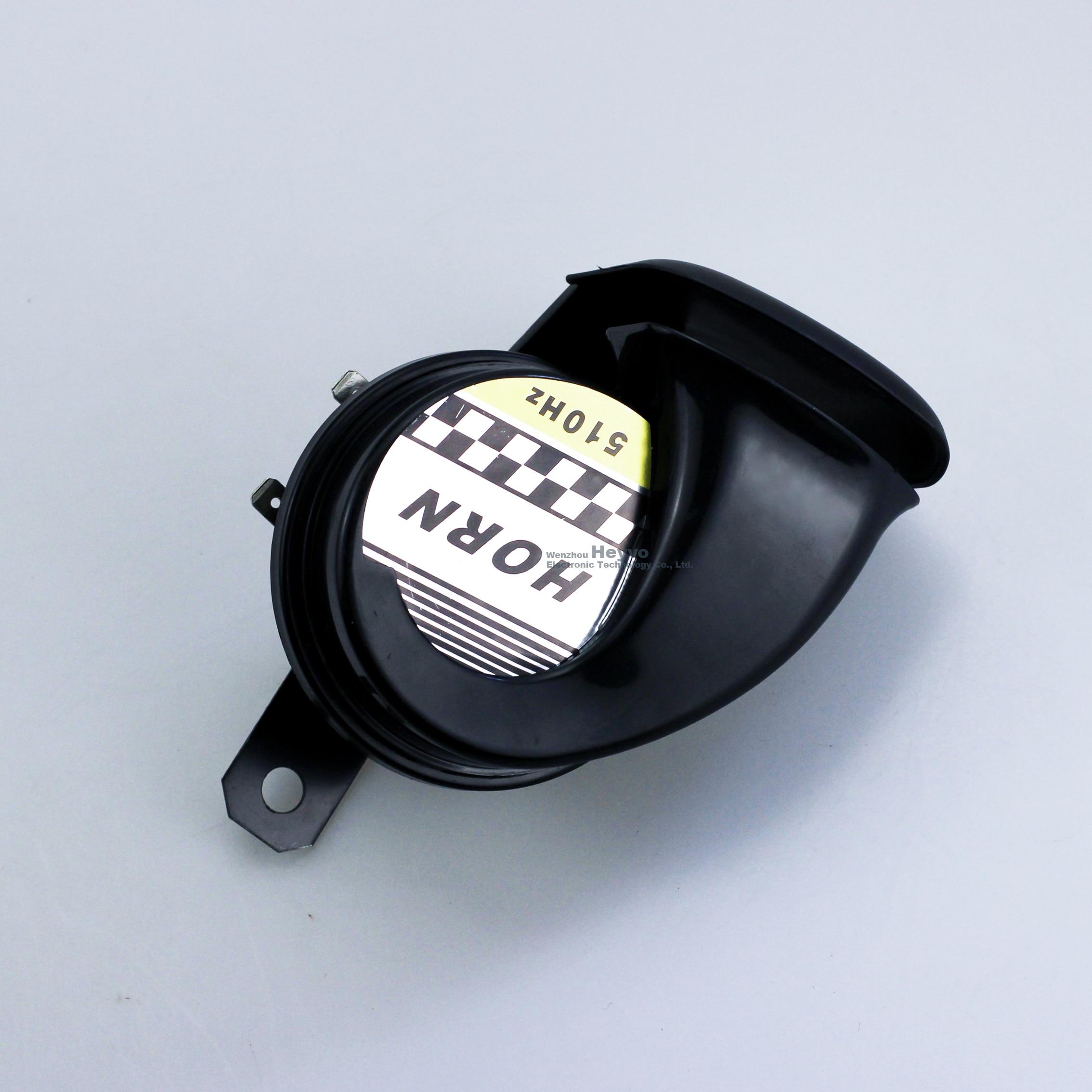 cheapest 12V DC Snail Air Horn  130dB 510Hz Universal Waterproof Loud Motorcycle Horn Speaker Siren For CAR Truck Motorbike