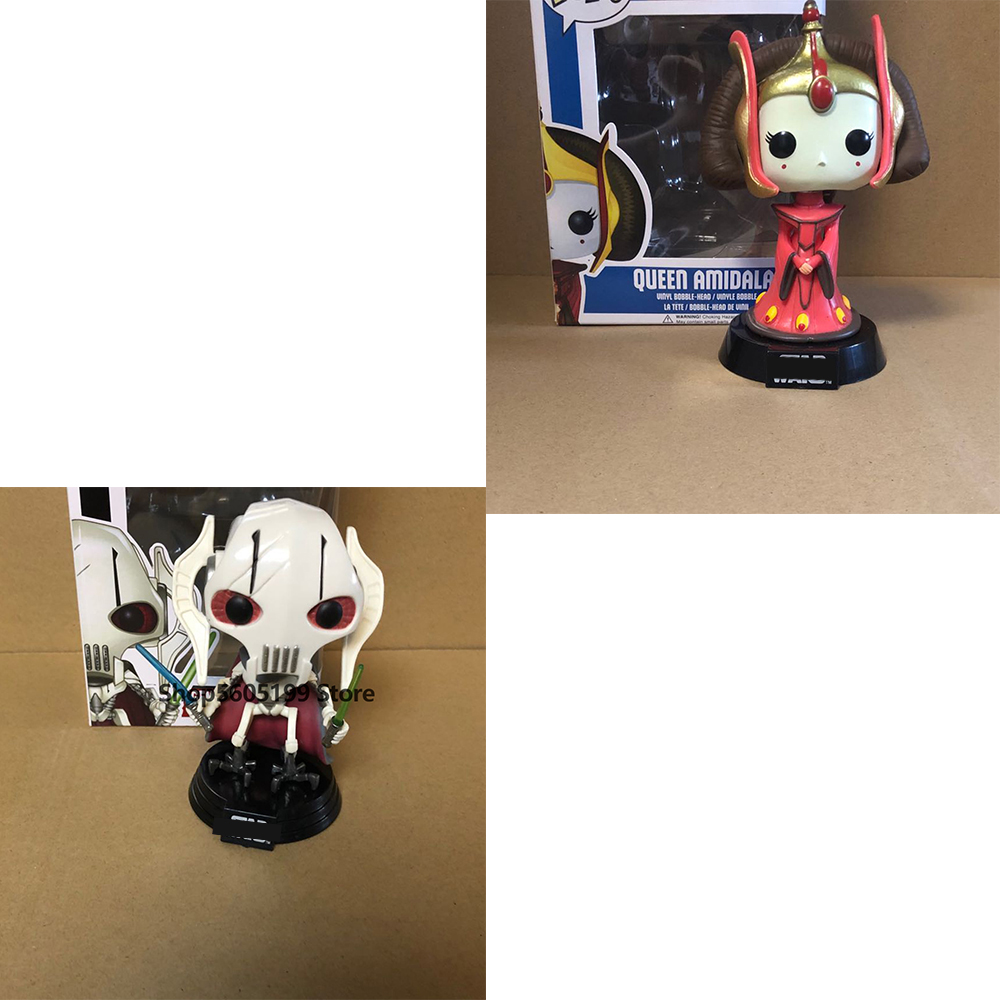 POP STAR & QUEEN AMIDALA #29 GENERAL GRIEVOUS # 129 with box Action Figure Collectible Model toys for chlidren|Action & Toy Figures|   - AliExpress