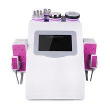 6 в 1 ультразвуковой 40 к вакуумный светодиодный Фотон терапия всасывание тела для похудения кожи лифтинг лица и прибор для ухода за телом