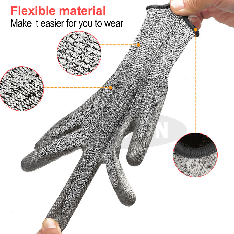 Cut Resistant Gloves Protective and  Multifunction Flexible Material