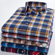 Очень большой Размеры 8xl 7xl 6xl Мужская рубашка с длинными