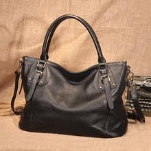 top-handle bags 2019 Genuine Leather Ladies Handbags Female Messenger Bags Designer Crossbody Bags for Women Tote Shoulder Bag цена и фото