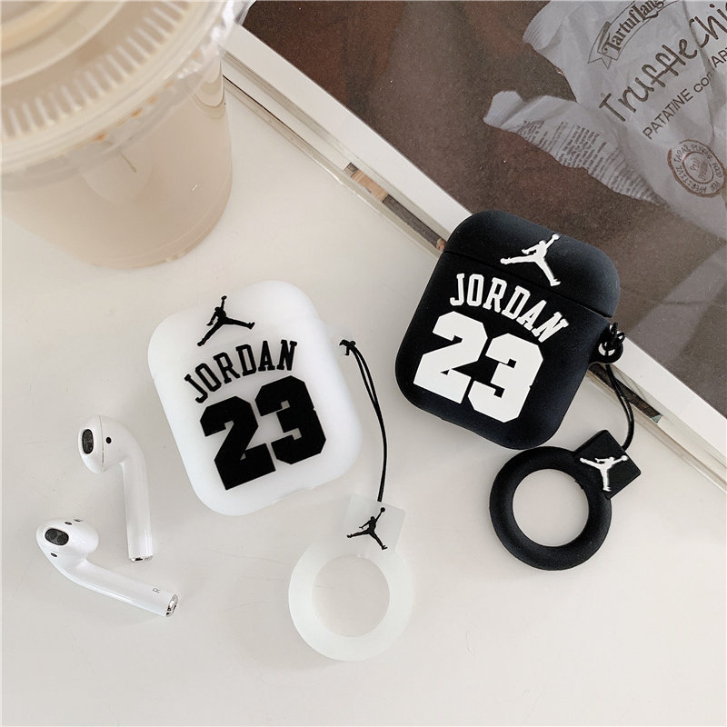 Apple Airpods Protective Case Nike Air Jordan 23 Earphone Set 2