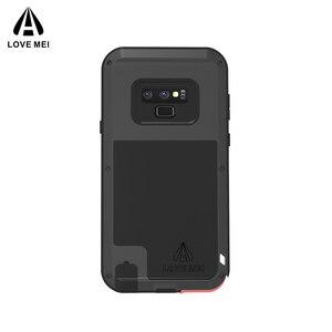 Image 2 - Caso Per Samsung Galaxy Note 8 9 3 AMORE MEI Potente Metallo Armatura Antiurto In Alluminio della Cassa Del Telefono Per Samsung Note 9 4/bordo/FE