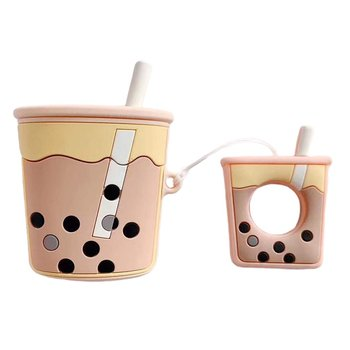 The milk tea cup is suitable for AirPods protective cover wireless headset silicone protective cover