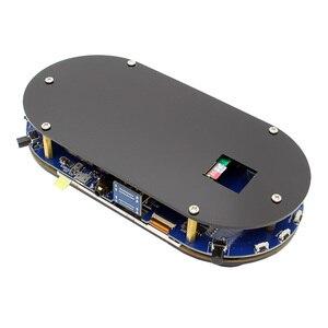 Image 2 - פטל Pi 4 דגם B / 3 B + בתוספת/3B/אפס W RetroPie משחק כובע קונסולת Gamepad עם 480x320 3.5 אינץ IPS מסך