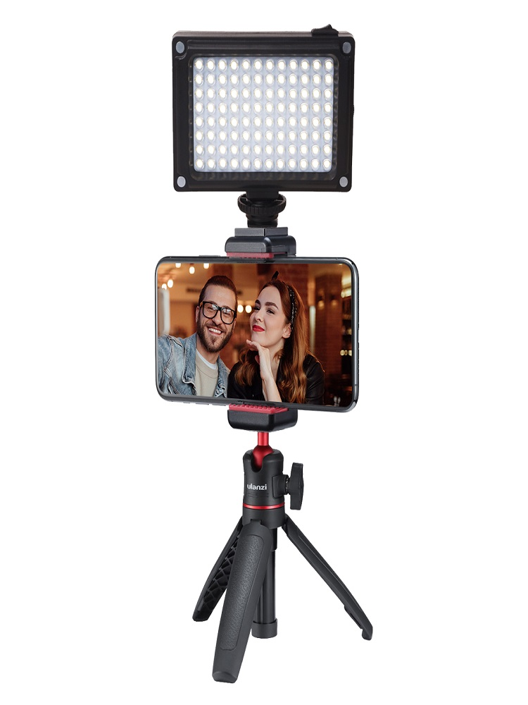 Ulanzi Video-Light Camera Hot-Shoe Smartphone LED 96 Vlog for DSLR