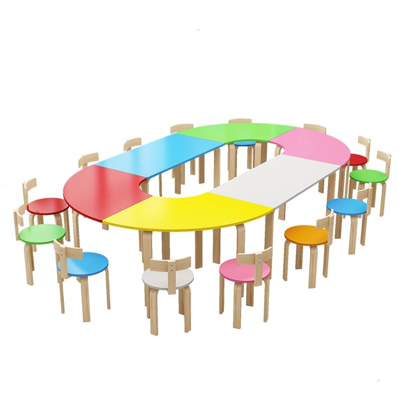 Chair Tavolo Bambini Children De Estudio Avec Chaise Stolik Dla Dzieci Kindergarten Mesa Infantil For Enfant Study Kids Table