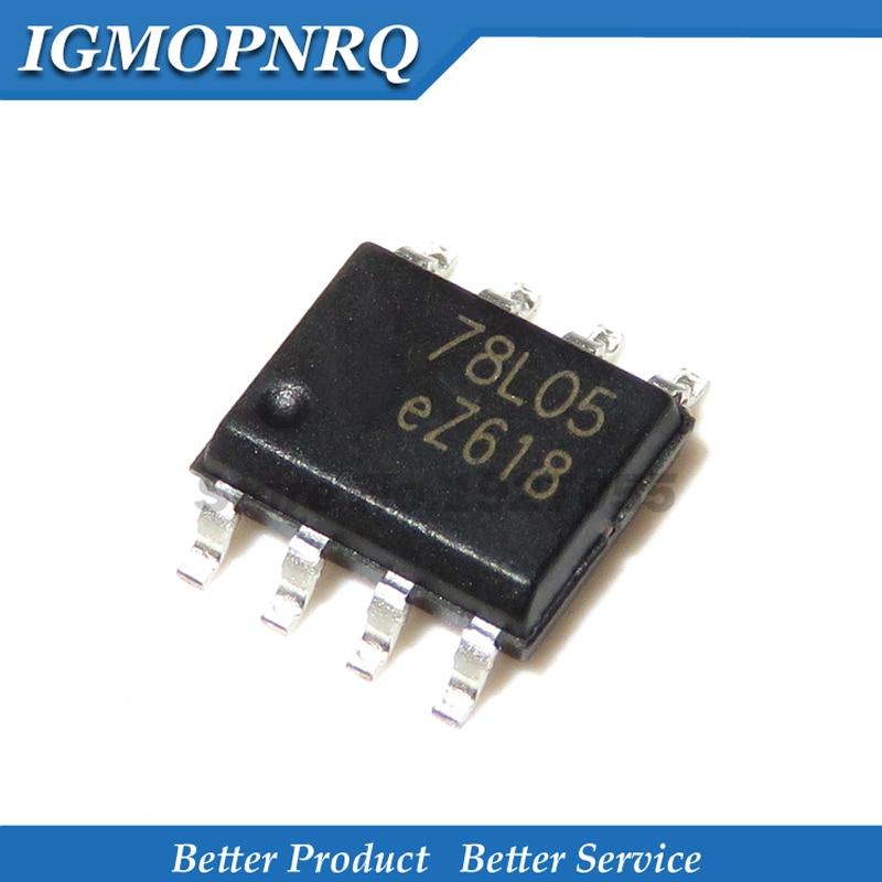 10PCS 78L05B SOP-8 78L05 SOP SMD New Original