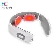 Usb充電式パルスネックマッサージ器遠赤外線加熱疼痛緩和ヘルスケアリラクゼーション装置インテリジェント頚椎マッサージ