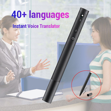 Portable Instant Intelligent Voice Translator Muama Enence 40 Languages For Tourism Travel Learning Business Meeting