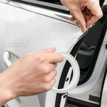 Car Stickers Door Sill Sticker Protector Multifunction Nano Tape Auto Bumper Strip Protect Scratchproof Accessories