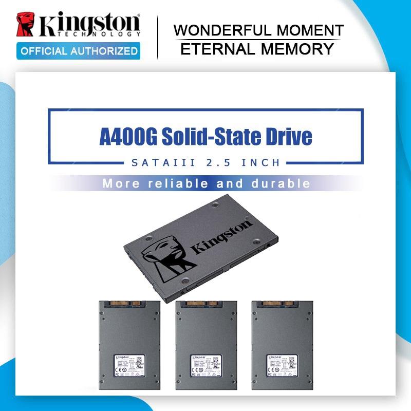 Original Kingston Digital A400 960gb SSD SATA 3 2.5 pouces interne disque dur HDD disque dur HD SSD ordinateur portable 960G