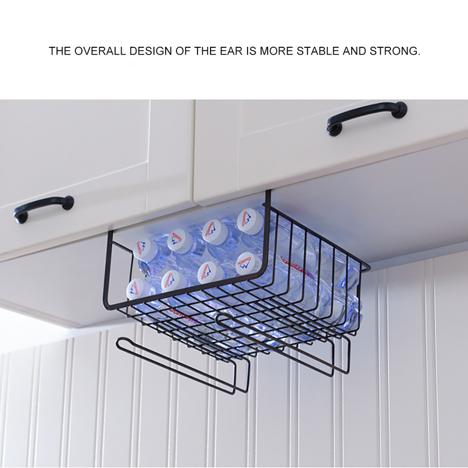 Miscela Per Pulire Il Forno us $8.48 44% off|metal shelf hanging storage basket cabinet organizer  holder for bookshelf kitchen closet storage basket for cupboard|storage  holders