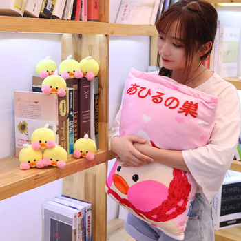 8pcs Kawaii Pillow Cafe Duck Plush Ball Bag Snack Toy Soft Cartoon Animal Duck Stuffed Doll Sofa Food Pillow Girlfriend Kid Gift loveyle super soft whale plush toy cartoon animal fish stuffed doll baby sleeping pillow cushion kid girlfriend christmas gift