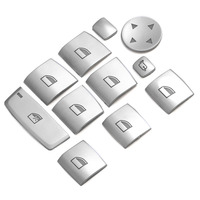 Door Window Switch Lifter Buttons Covers Trim Interior Stickers For Bmw 5 Series F10 F18 525 528 11 17