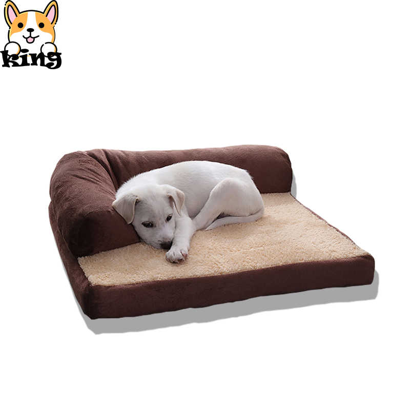 新新到着メカニカル洗浄ナイロンファッション犬のベッド大型犬のための 2019 豪華なベッドソフト高品質ペットパッドソファカバー