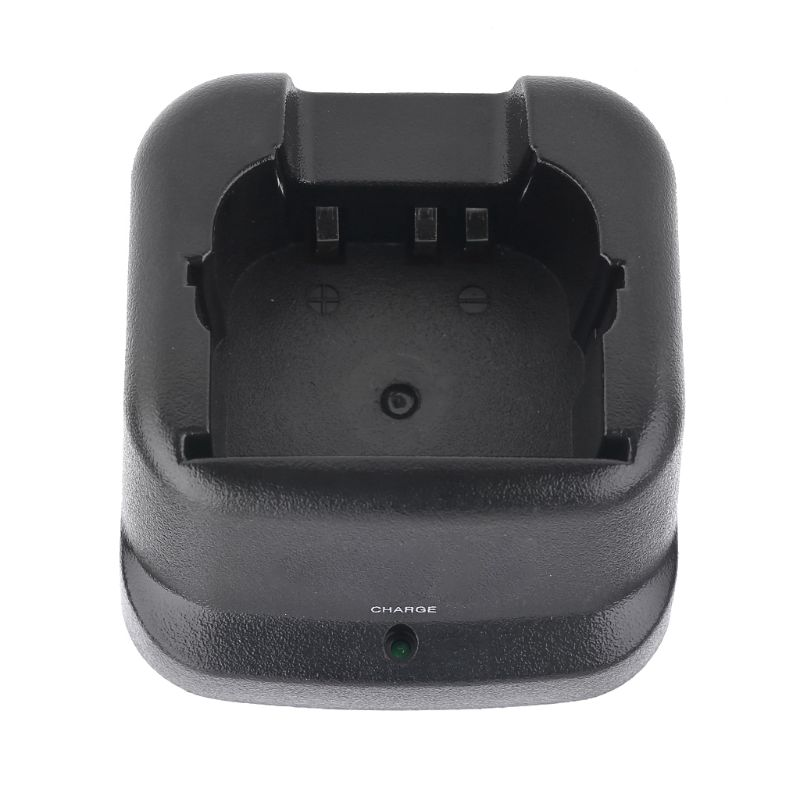 BC137 Desktop Charging Dock Base Charger For Icom Walkie Talkie IC-V8 IC-V82 Kit 3XUE