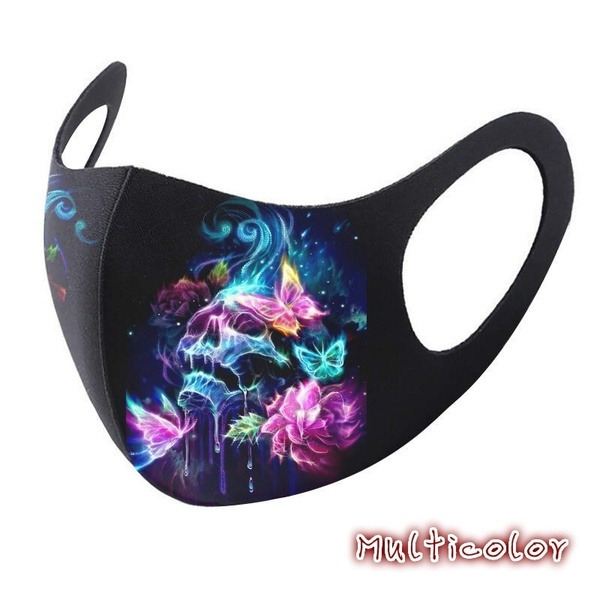 Adult face cosplay fashion cotton Halloween reusable fabric facemaks filters cosplay 2020 COSPLAY 3