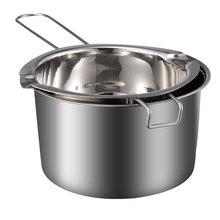 Pot Chocolate-Pot Melting-Pot Safe Double-Boiler Stainless-Steel Nice Chic-Fine 1set