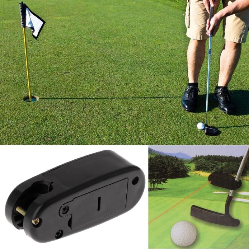 Golf Putter Laser Pointer Sight Rangefinder Motion Auxiliary Aim Line Practice