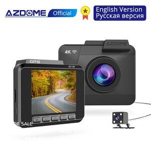 AZDOME M06 4K Dash Cam UHD 216