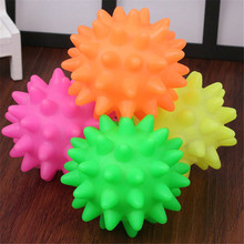 1 PC Dog Toys For Small Large Dogs Cats Pet Squeak Durable Rubber Balls Puppy Molar Chew Supplies Wholesale
