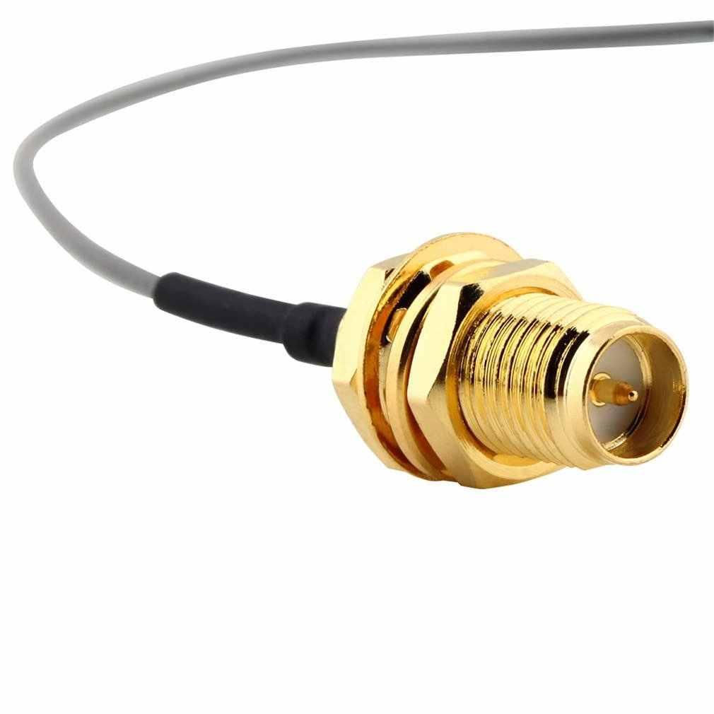 1pc für PCI Wifi Karte U. FL IPX zu RP-SMA weibliche RF Zopf Kabel Jumper C1 Drop schiff