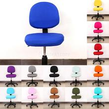 Office Computer Chair Cover Universal Rotate Desk Seat Covers Slipcovers Home Chair Seat Back Cover Universal Chair Cover