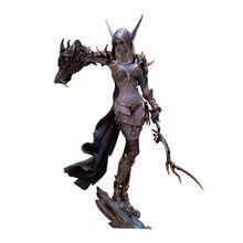 23CM WOW Blizzard monde de Warcraft adultes morts-vivants Sylvanas figurine poupée Figurines Action décoration PVC jeu Figma modèle jouets