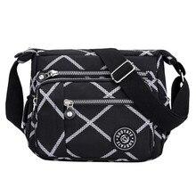 MAIOUMY Women's Fashion Solid Color Zipper Waterproof Nylon Shoulder Bag Crossbody Bags For Women Messenger Bags Bolsa Feminina