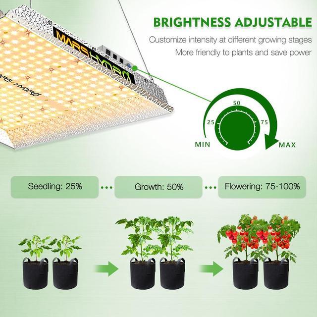 2020 Mars Hydro TS 1000W 2000W 3000W LED Grow Light Lamp Sunlike Full Spectrum 2