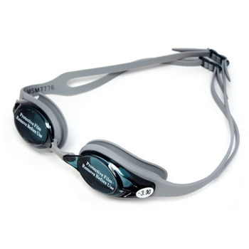 Miopía de silicona profesional-300 gafas de natación Anti-niebla UV gafas de natación con tapón para los oídos para hombres gafas deportivas sin caja