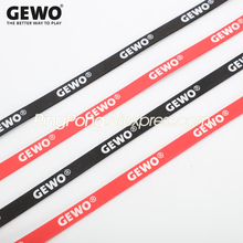 10x Original GEWO Table Tennis Racket Edge Tape Side Protective Tape Ping Pong Bat Sponge Tape Accessories