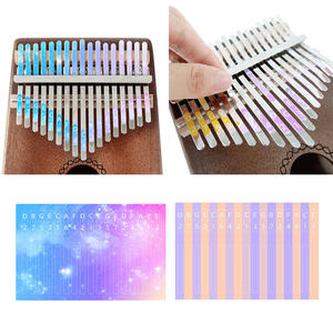 Percussion-Parts-Accessories Key-Sticker Musical-Instrument-Kit Kalimba 17 for Learner