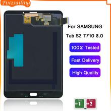 For Samsung GALAXY Tab S2 T710 T715 SM-T715 LCD Display Touch Screen Digitizer Sensors Assembly Panel Replacement 8.0 Inches