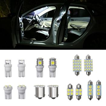 1 Set LED 1157 T10 31 36 41mm Car Auto Interior Map Dome License Plate Replacement Light Kit White Lamp Daytime Running Lights image