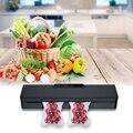 Новый мини бытовой ручной пластиковый камерный Термоупаковщик, вакуумный упаковщик для сохранения пищи, вакуумный упаковщик для пищевых п...