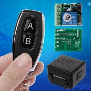 Image 2 - 2019 새로운 원격 제어 무선 스위치 12 v 315 mhz 1ch 릴레이 수신기 모듈 rf 송신기 지능형 전자