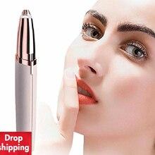 Mini Eyebrow Trimmer Epilators Lipstick Brows Pen Hair Remover Epilato