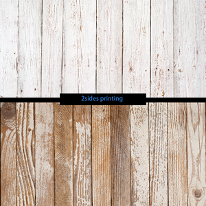 Image 4 - フォトスタジオ 55X86cm 2 辺印刷グレー木製黒青色の背景カメラ写真
