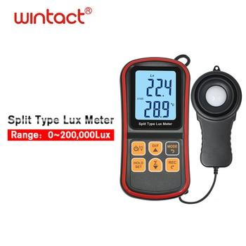 GM1030C Split Type LCD Handheld Illuminometer Bluetooth Luminometer Light Meter with APP