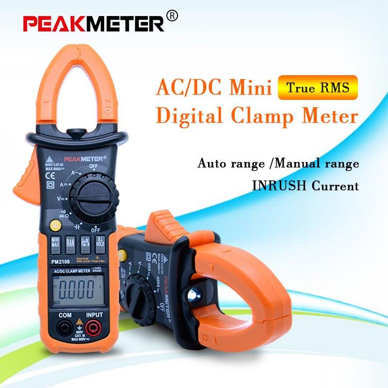 Business & Industrial PEAKMETER PM2108 LCD Digital AC/DC Clamp ...